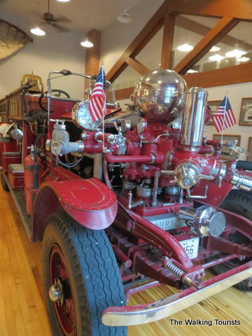 Firefighers museum in Clear Lake, IA