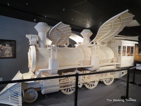 Steampunk Locomotive going to Ripley's Believe It Or Not from Matchstick Marvels in Gladbrook, Iowa