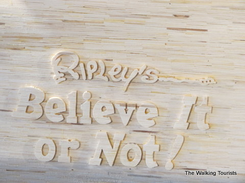 Acton has a contract with Ripley's Believe It or Not for his Matchstick Marvel creations