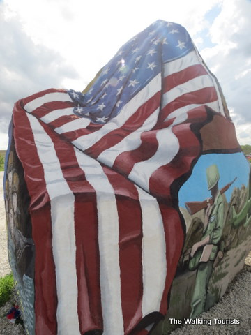 Freedom Rock honors America, veterans and Iowa