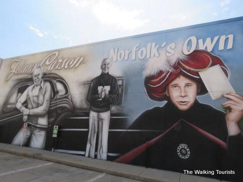 Johnny Carson; Norfolk, Nebraska