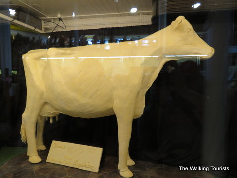 Must see the butter cow at the Iowa State Fair