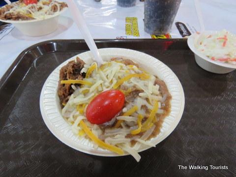Hot Beef Sundae at the Iowa State Fair
