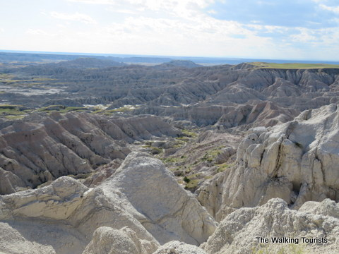 South Dakota's Badlands National Park offers amazing views