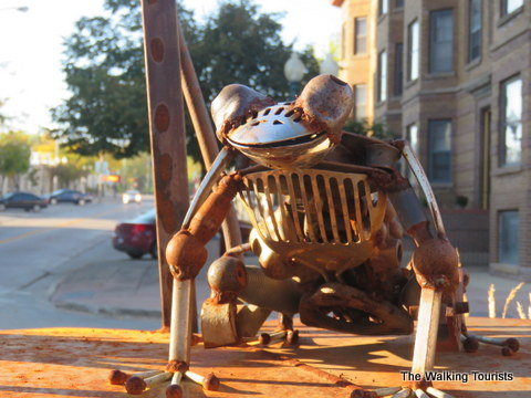 Enjoy a walk in downtown Sioux Falls