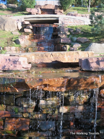 Japanese Gardens Add To The Beauty Of Sioux Falls The Walking Tourists