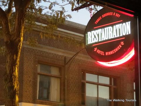 Restauration at Hotel Winnehiek