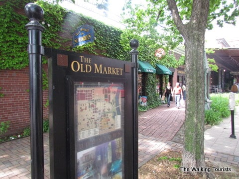 Omaha's Old Market is a potpourri of interests