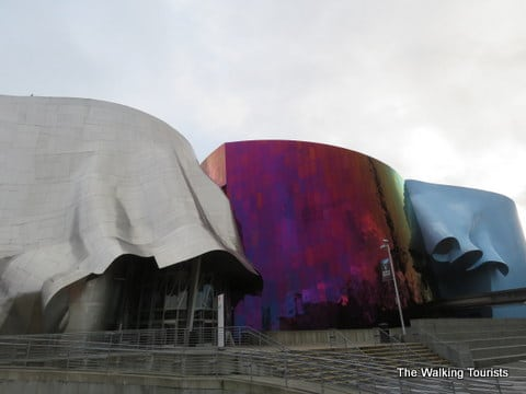 Seattle's EMP Museum full of eclectic exhibits and views