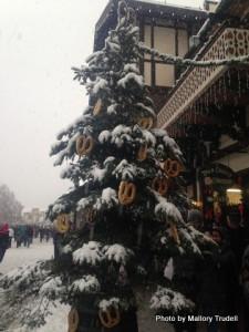 Celebrating Christmas Bavarian style in Leavenworth, Washington