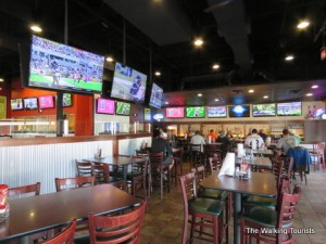 Buffalo Wings and Rings tops our favorite sports eateries
