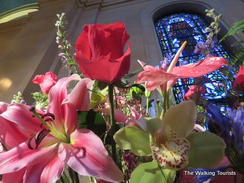 Stopping and smelling the flowers at Omaha Cathedral's annual floral festival