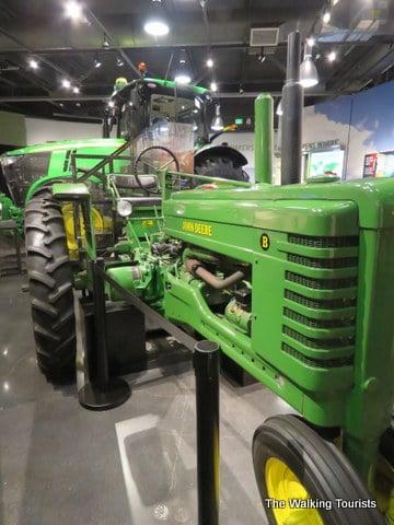 Tractor history plows into Waterloo's John Deere Museum