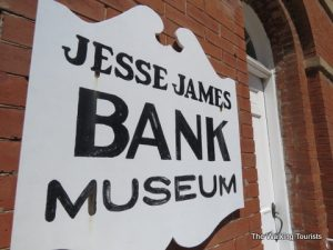 Jesse James' gang pulled first daylight bank robbery at Liberty, Missouri