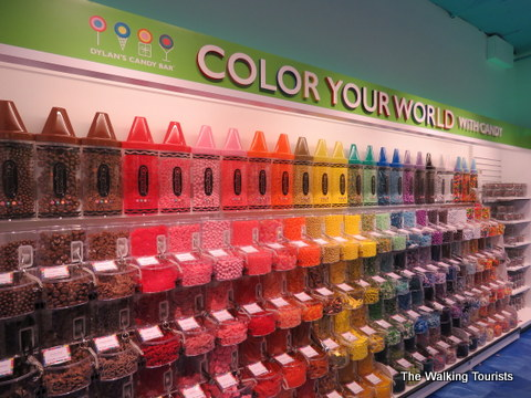 Crayola crayons at the Mall of America