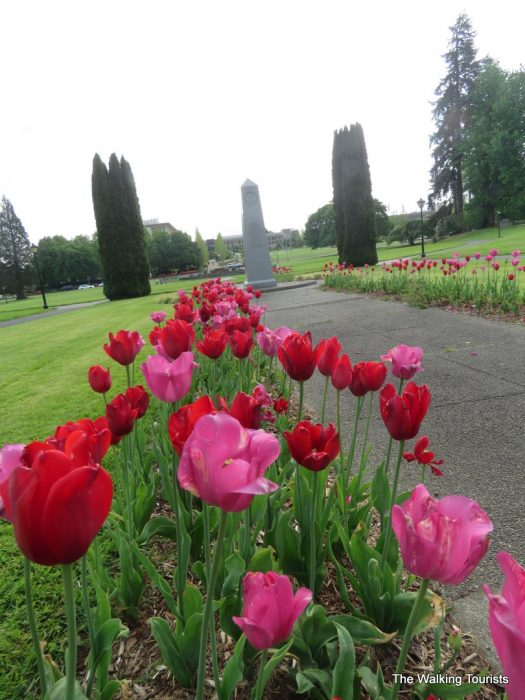 Washington's state capitol highlights Olympia visit