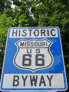Driving Route 66 through Pulaski County, Missouri
