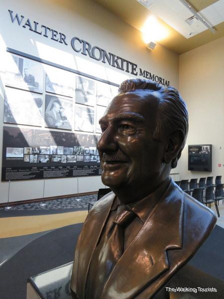 Walter Cronkite Memorial in St. Joseph, Missouri