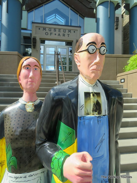 Cedar Rapids goes 'Gothic' with art project to honor artist Grant Wood