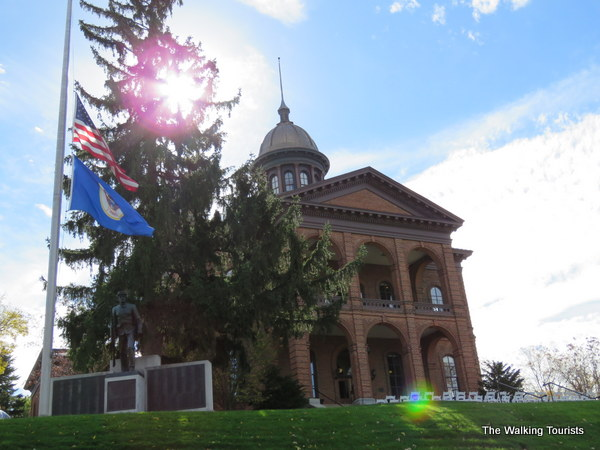 The Washington County courthouse in Stillwater