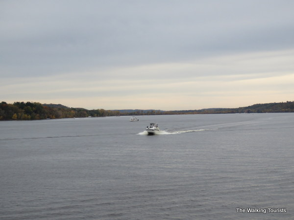 The St. Croix River has plenty of room for recreational boating in Stillwater