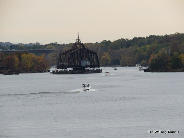 This spot seemed popular with boaters in Stillwater
