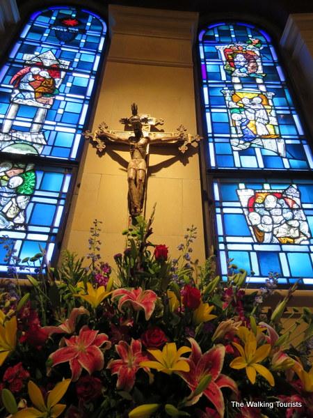 Omaha's Cathedral flower show celebrates Nebraska's history