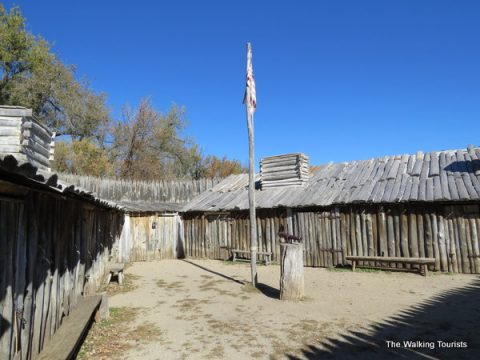 Lewis and Clark's winter camp in Washburn, North Dakota