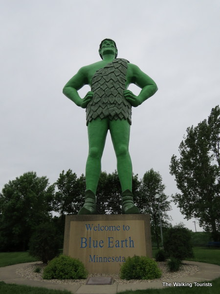 Wearin' o' the Green: Blue Earth, Minnesota, home to Green Giant
