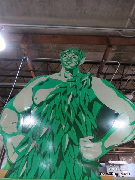 Wearin' o' the Green: Blue Earth, Minnesota, home to Green Giant