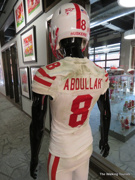 finest selection 933a4 4dbba Go Big Red! Lincoln collector opens Husker football gallery ...