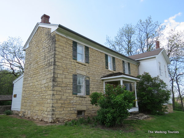 Buffalo Bill's childhood home in LeClaire, Iowa