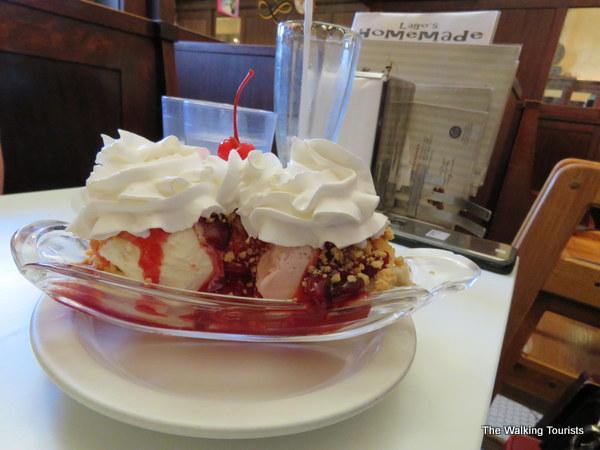 Great ice cream in Moline, Illinois