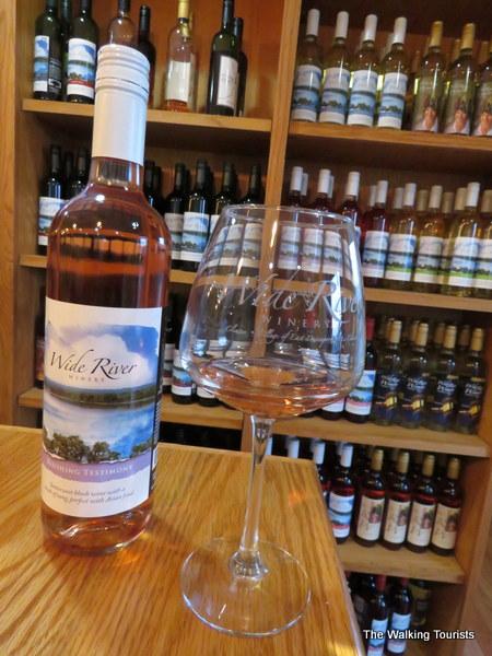 Wide River Winery in Davenport, Iowa
