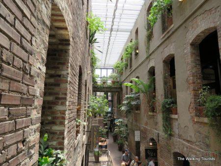 Old Market Passageway in Omaha