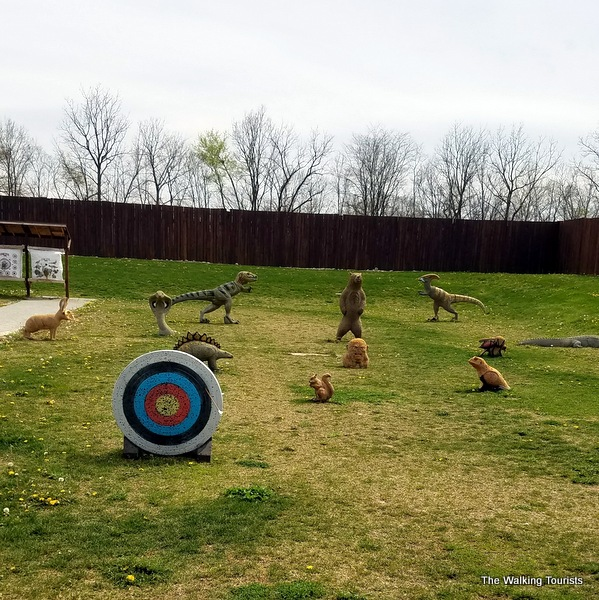 Targets at the Koteewi Archery Range