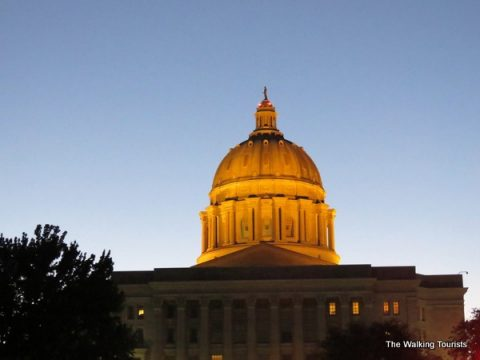 Jefferson City shows off Missouri's history with state capitol