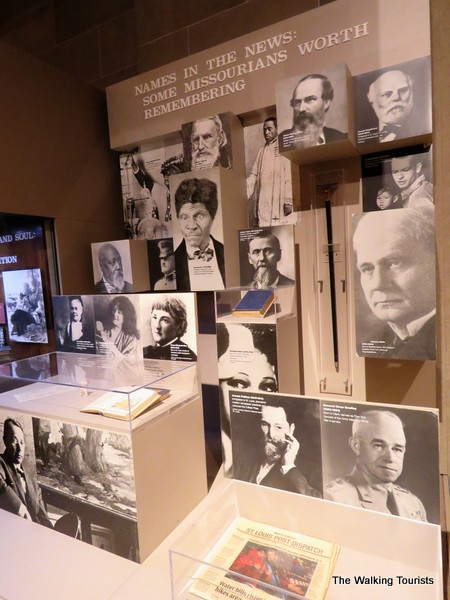 Important people in Missouri's history at Missouri State Museum