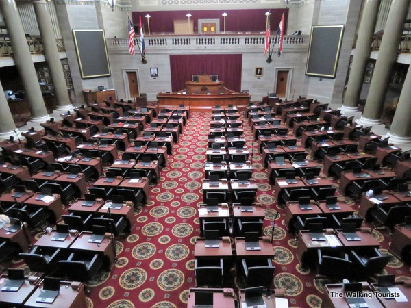View the Missouri House of Representatives Chambers