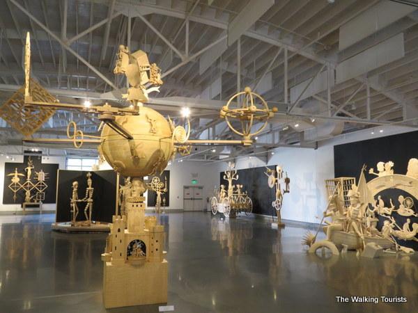 Kinetic exhibit at Kaneko