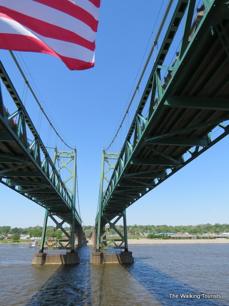 Big wheels keep on turnin' – Quad Cities' Celebration Belle cruises the Mississippi