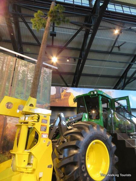 Climb aboard a John Deere Tractor
