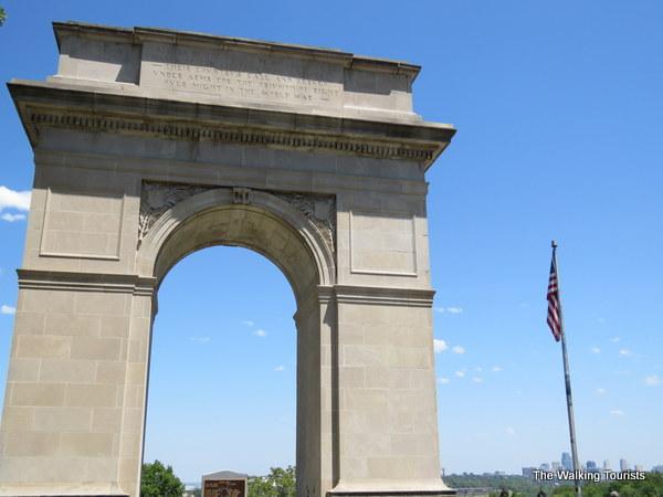 Rosedale Arch Memorial in Kansas City, Kansas