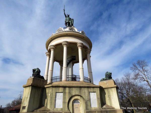 Hermann the German statue in New Ulm