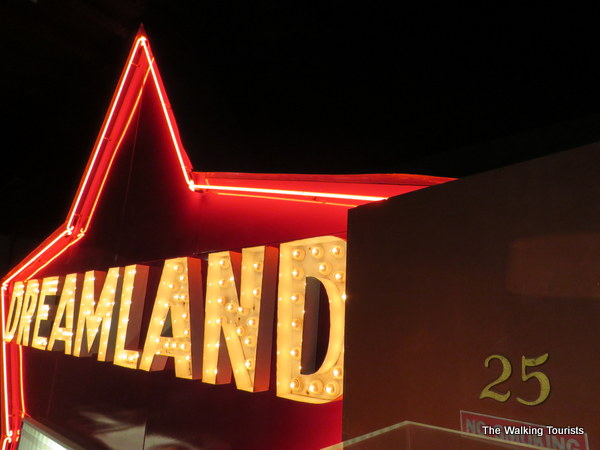 Dreamland Motel sign at the Oklahoma City National Memorial and Museum