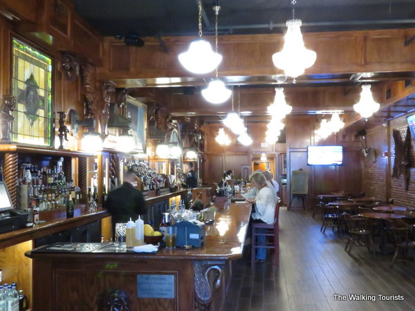 McClintock's Saloon in Stockyards City district of Oklahoma City