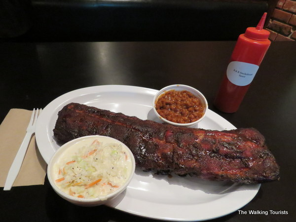Ribs at B&B Express on 168th and Harrison