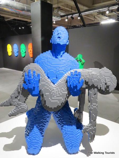 Lego piece of man holding body in his arms