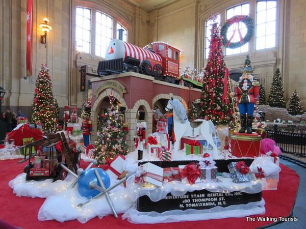 KC Christmas display