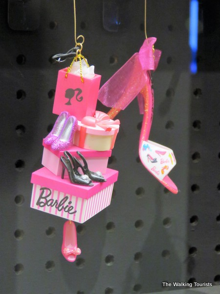 Barbie has been a popular ornament for Hallmark.